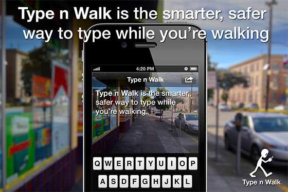 Type n Walk screenshot 1